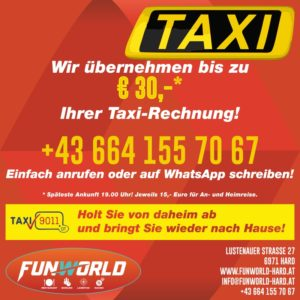 Taxiaktion Funworld