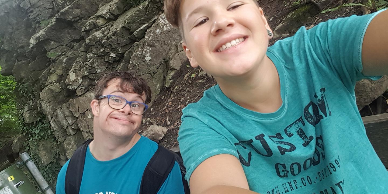 Selfie von Rafael und Philipp